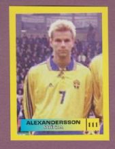 Sweden Niclas Alexandersson Sheffield Wednesday